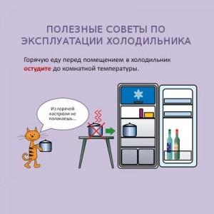 Чтобы холодильник служил долго